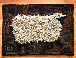 Betsy's Large Shag Sheep Pattern
