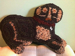Betsy' primitive dog pattern