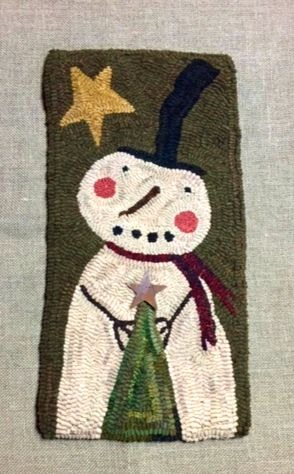 CHILLY rug hooking pattern