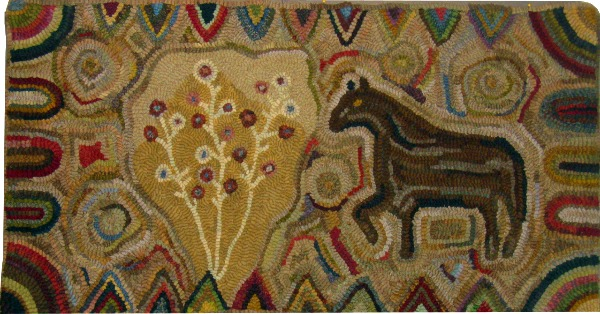 GYPSY rug hooking pattern