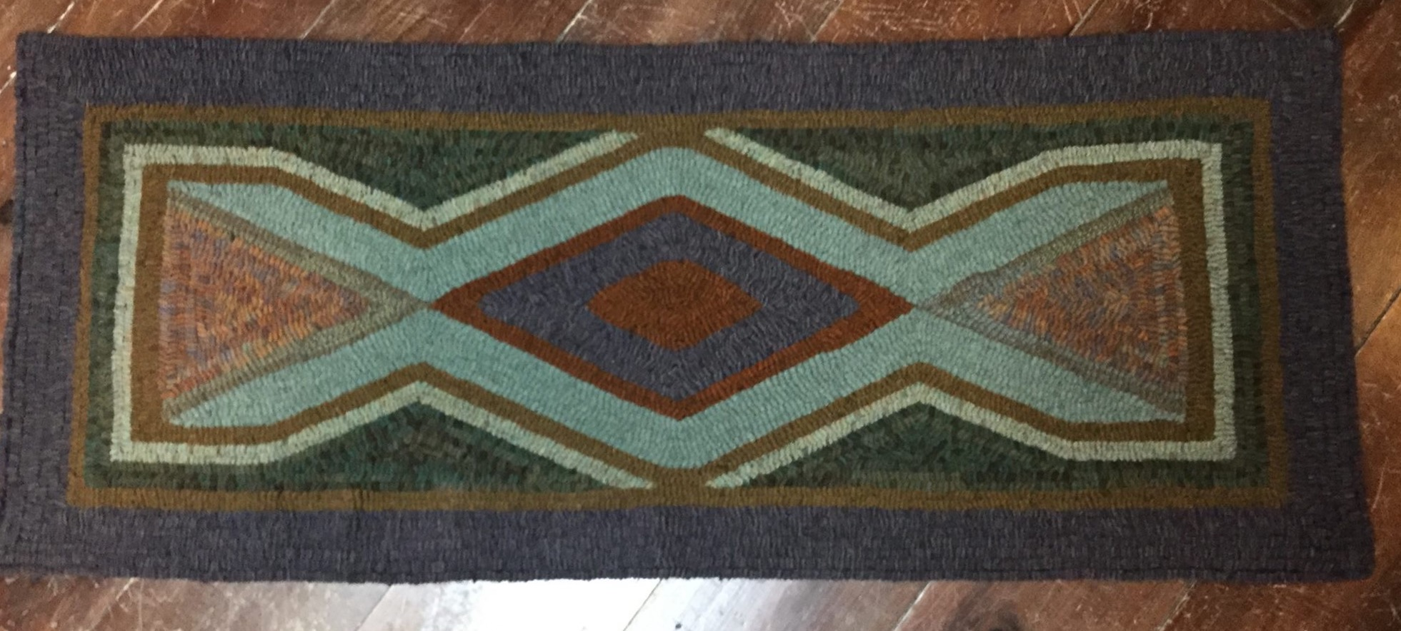 ss pattern products hooking patterns company rangoli square seaside rug