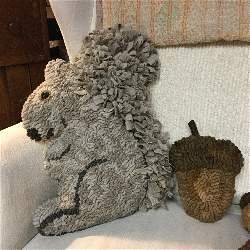 Earl the Squirrel Cut out pattern