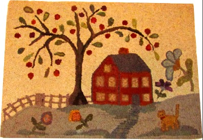 LIFE'S BLESSINGS rug hooking pattern