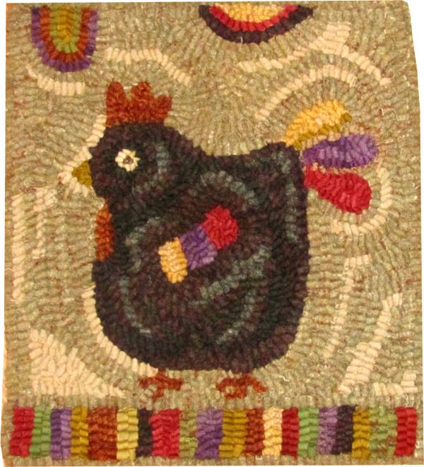 MILLIE Rug hooking pattern