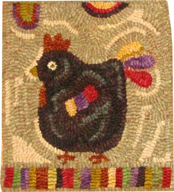 MILLIE Rug hooking pattern