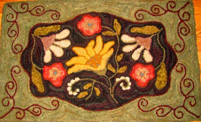 BOUNTIFUL BEAUTIES rug hooking pattern