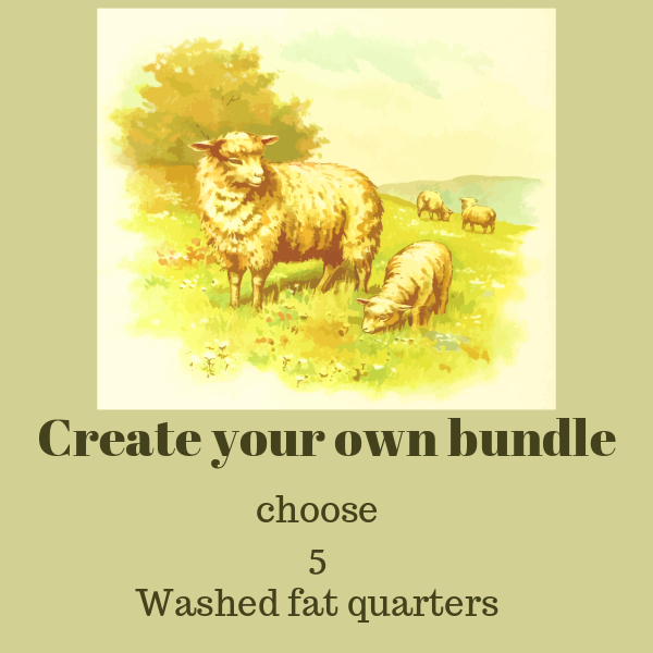 CREATE YOUR OWN BUNDLE WASHED FAT QUARTERS
