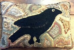 PRIMITIVE CROW PATTERN