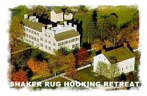 SHAKER RUG HOOKING RETREAT